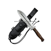 J V Knives EZAPAC 37cm Cocobolo Handled Hunting Survival Knife
