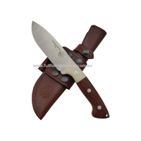 J & V Axarquia Hunting Micarta Cocobolo Full Tang Fixed Blade Knife