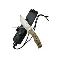J&V Adventure Knives Outlander Knife Light Brown