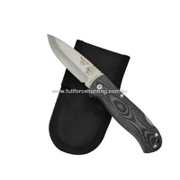 J&V Adventure Knives Black Bushcraft Folding Utility Knife