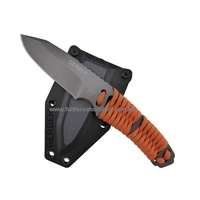 GERBER Bear Grylls - Paracord Fixed Blade Knife with 114 cm of Cord and Durable Slimline Sheath 31-001683