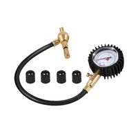 2-IN-1 Tyre Gauge & Deflator Black