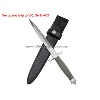 Single Shadow Sheathed Dagger Knife GH0441 Gil Hibben