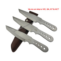 Gil Hibben GH5003 Large Triple Warrior Thrower Knife Set of 3