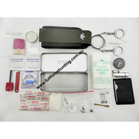 Kizlyar Supreme 46pc Survival Emergency First Aid Rescue Kit