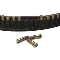 .22 Leather Ammo Cartridge Belt