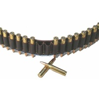 .30Cal Leather Ammo Cartridge Belt
