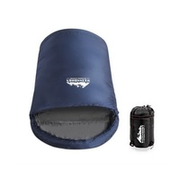 Wesshiorn Pebble-shaped Extra Large Sleeping Bag Navy