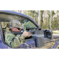 MaXbox Magnetic Door Pro II Weather-Proof Gun Rest Rifle Mount