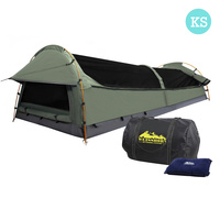 Weisshorn King Single Camping Canvas Swag