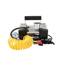 Air Compressor 12v Car 4x4 Tyre Deflator 4wd Portable Inflator 150PSI 85L/min