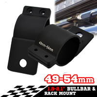 PAIR Bullbar Mounting Bracket Clamp FOR LIGHT BAR Rigid HID ARB MOUNT 49 54mm