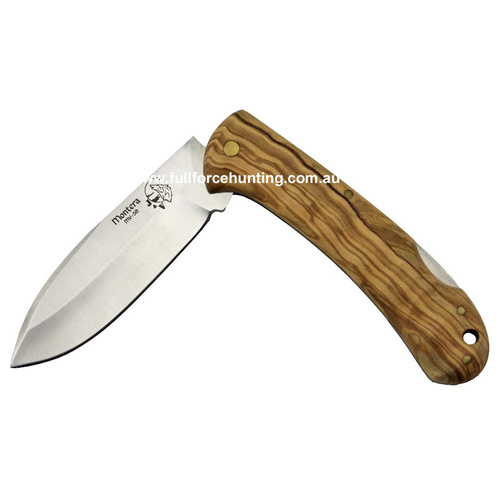 Monterro Wood Handled Folding Knife JV Adventure