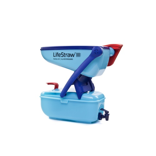 LifeStraw® Family 12 Litre Portable Point of Use Drinking Water Filter Tank