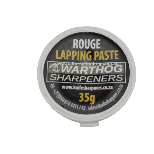 Rouge Lapping Paste | Leather Strop | 220mm Multi Edge Warthog Sharpener