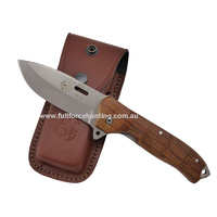 J&V Adventure Knives - SV-2 Cocobolo Folder Pocket Knife with Liner Lock