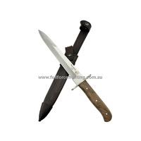 J & V Knives Trinchera Aleman Trench Knife Leather Sheath