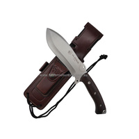 "J&V Adventure Knives - Gladius 12"" Cocobolo Fixed Blade Survival Knife"