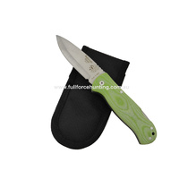 J&V Adventure Knives Bushcraft Green Folding Utility Knife