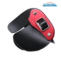 Cartel Archery Red Finger Tab Pro-1 Large Right Hand