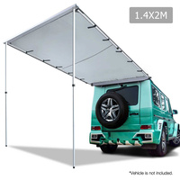 2X1.4M Car Awning  - Grey
