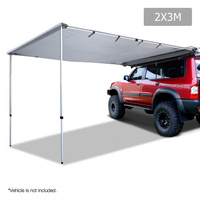 2X3M Car Awning  - Grey