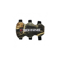 Bohning Archery 3 Strap Arm Guard - Camo
