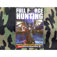 Full Force Hunting Grim Reaper Design Sticker 148mm x 105mm