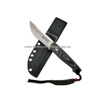 Kizlyar Supreme Nikki Satin AUS-8 Steel Fixed Blade Hunting Knife