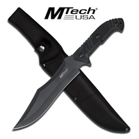 "MTech USA 14"" Tactical Bowie Knife with Nylon Sheath (MT-2039)"