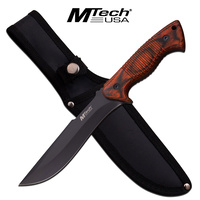"MTech USA MT-20-73WD 11"" Tactical Bowie Knife with Nylon Sheath"