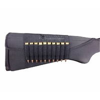 Eagleye Hunting Gear Neogard Buttstock Centre Fire Ammo Holder in Black