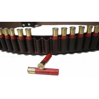 12g Leather Ammo Cartridge Belt