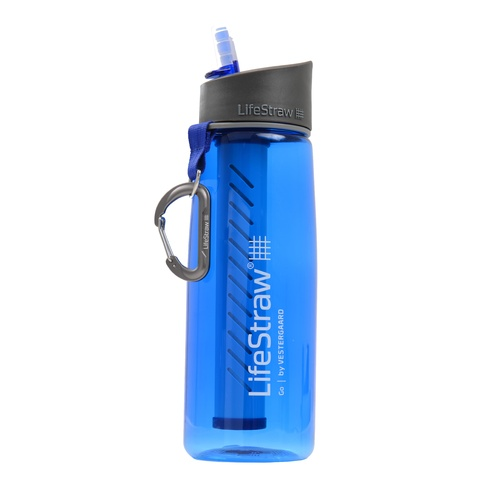 LifeStraw® Go 650ml BPA-free Portable Drinking Water Filter Bottle